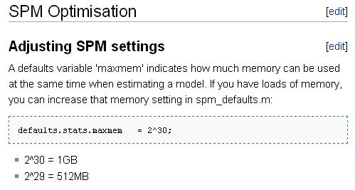 A defaults variable 'maxmem' indicates how much memory can be used at the same time when estimating a model. If you have loads of memory, you can increase that memory setting in spm_defaults.m